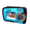 Coleman Duo 14.0 MP Underwater Digital & Video Camera, Waterproof to 10 ft, Blue