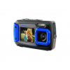 Coleman Duo2 20.0 MP Underwater Digital & Video Camera, Waterproof to 10 ft w/Dual LCD Screens, Blue
