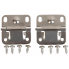 Coleman Set of 2 Stainless Steel Cooler Hinge, Cooler Replacement Part, Stainless Steel
