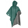 Coleman EVA Game Day Poncho, Side Snap Closure, Full Coverage Hood, Green / Gray