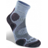 Bridgedale CoolFusion Trail Diva Light Sock - Women's-Heather/Damson-Small