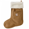 Carhartt Christmas Stocking for Mens, Carhartt Brown, One Size Fits All