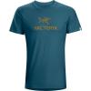 Arc'Teryx Arc'Word Men's Short Sleeve T-Shirt, Red Beach, Large