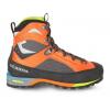 Scarpa Charmoz Mountaineering Boot   Men's, Shark/Orange, 40