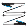 Black Diamond Distance Carbon Z Trekking Poles, Ultra Blue, 100 cm