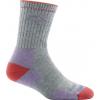 Darn Tough Hike/Trek Cool Max Micro Crew Cushion Sock - Women's, Light Gray, Large