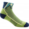 Darn Tough Junior Hiker 1/4 Light Cushion Sock - Kids, Green, Large