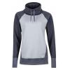 Marmot Marley Long Sleeve T-Shirt - Womens, Grey Storm Heather/Dark Steel, L