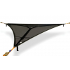 Tentsile Tents Trillium XL Amazing Triple Heavy Duty PE Mesh Hammock, Fire Resistance US CPAI-84, 1 Season, Black