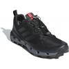 Adidas Outdoor Men's Terrex Fast GTX-Surround Hiking Shoes, Black/Grey Five/Hi-Res Red, 10 US