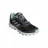Adidas Outdoor Women's Terrex Trailmaker Trailrunning Shoes, Black/White/Ash Green, 10 US