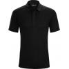 Arc'teryx A2B Short Sleeve Polo - Men's, Black, Large