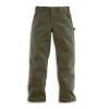 Carhartt Washed Twill Dungaree Relaxed Fit   Mens, Army Green, 35 Waist, 30 Inseam