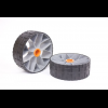 Sea to Summit Solution Retro-Fit Solid Wheels, 2-Pack, 35mm Hub, Fits SOT Carts