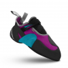 Mad Rock Lotus Womens Climbing Shoes, Teal/Purple, 3 US