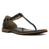 Bogs Womens Memphis Thong Sandal,Black,Size 6.5