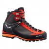 Demo, Salewa Crow GTX Men's Mountaineering Boots, Black/Papavero, 9 US