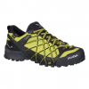 Demo, Salewa Wildfire GTX Men's Approach Shoes, Black Out/Mimosa, 9 US