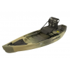 NuCanoe Frontier Canoe, 10ft, w/360 Pinnacle Seat, Army Camo, 10 FT