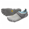 Vibram FiveFingers V-Aqua Water & Boat Shoes - Women's, Grey/Blue, 36 EU
