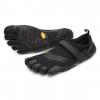 Vibram FiveFingers V-Aqua Water & Boat Shoes - Men's, Black, 39 EU