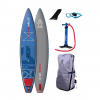 Starboard Wide Point Zen Lightweight Croc Skin Texture Paddle Board, Blue/Red, 10ft 5in