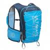 Ultimate Direction Mountain Vest 4.0 Running Vest, Custom Fit w/ Easy On-the-Go Adjustment, Blue, LG