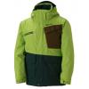 Marmot Space Walk Jacket - Boy's-Slate Grey/Vibrant Green-X-Small