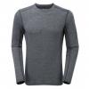Montane Fem Primino 140 L/S T-Shirt, Black, UK8/US6/EUR34