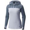 Mountain Hardwear Butterlicious Long Sleeve Hoodie - Women's-Dark River-Large