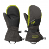 Outdoor Research Adrenaline Mitts - Kid's-Charcoal/Black/Lemongrass-Large