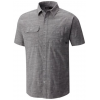 Mountain Hardwear Outpost Short Sleeve Shirt - Men's, Stealth Grey, L