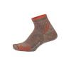 ExOfficio BA Solstice Canyon Qtr Sock Womens, Oatmeal Heather, M/L