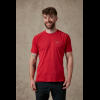 Rab Force Short Sleeve Tee - Mens, Cayenne, Large