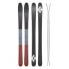 Black Diamond Boundary Pro 100 Ski, Rust, 172 cm