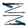 Black Diamond Distance Carbon FLZ Adjustable Trekking Poles, 95-110 cm, Ultra Blue