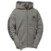 Caterpillar Full Zip Hooded Sweatshirt, Dark Heather Grey, 2XL