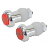 Seattle Sports CycleFire Bar Plug Lights, Silver