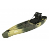 NuCanoe Flint Canoe with Pinnacle Seat, 11ft 3in, Army Camo