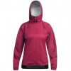 Level Six Womens Ellesmere Long Sleeve 2.5 Layer Jacket W/Hood, Beet Red, Large