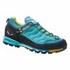 Salewa Mtn Trainer Approach Shoes, Bright Acqua/Mimosa, 8.5