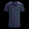 Arc'Teryx A2B Men's V-Neck Shirt, Nighthawk, Large