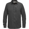 Fjallraven Abisko Hike Long Sleeve Shirt - Men's -Dark Grey-Large