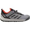 Adidas Outdoor Terrex Swift Solo Approach Shoe - Men's-Vista Grey/Chalk White/Energy-Medium-14
