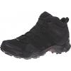 Adidas Outdoor Men's Terrex AX2R Mid GTX Hiking Shoes, Black/Black/Black, 6 US
