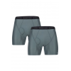 ExOfficio Give-N-Go Boxer Brief 2-Pack Mens, Charcoal, 2XL
