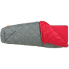 Big Agnes Cross Mountain 45 Sleeping Bag (Synthetic) Gray Regular Left