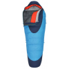 Kelty Cosmic 20 Down Sleeping Bag, 600+ Dri Down, Pattern Paradise Blue/Twilight, Short, Right, 260471