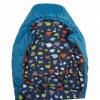 Kelty Woobie 30 Degree Boy's Sleeping Bag, Mosaic Blue