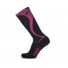 Point 6 Ski/Carve Light OTC Women's Sock, Black/Lipstick, Small
